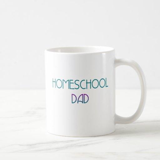 Papá de Homeschool Tazas De Café