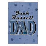 PAPÁ de Jack Russell Felicitación
