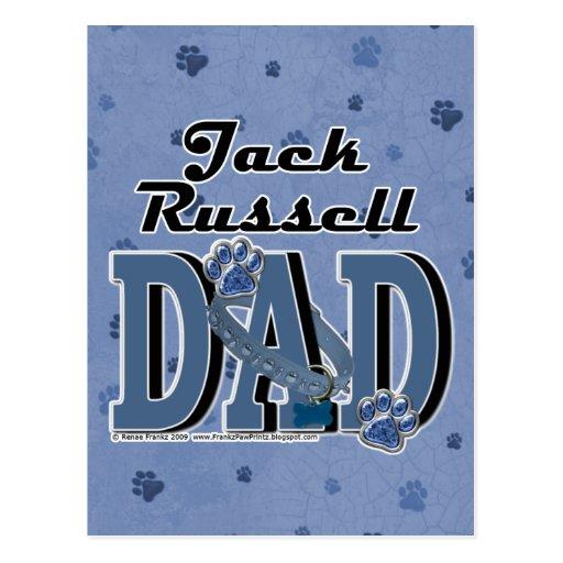 PAPÁ de Jack Russell Postales