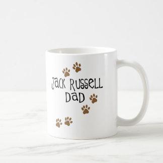 Papá de Jack Russell Taza De Café
