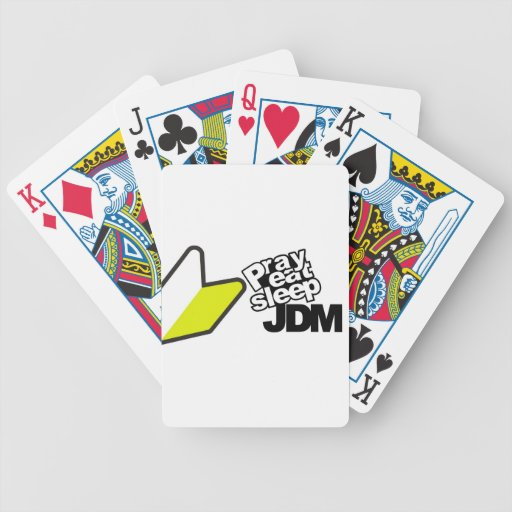 Papa de JDM Baraja Cartas De Poker