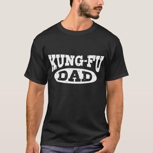 Papá de Kung Fu Playera