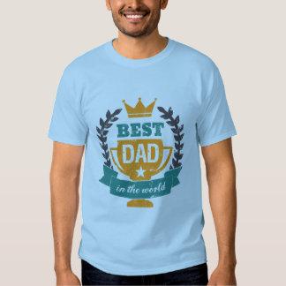 Papá de la camiseta del día de padre del Grunge el Playera