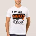 Papá de la cinta del cáncer del riñón camisetas