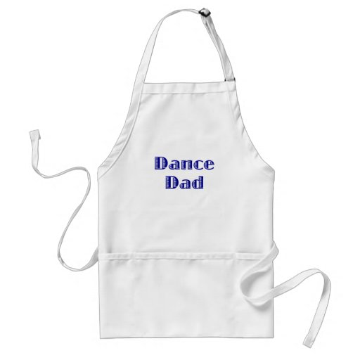 Papá de la danza delantal
