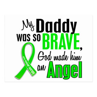 Papá de la distrofia muscular del ángel 1 postales