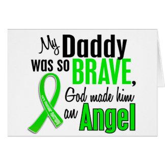 Papá de la distrofia muscular del ángel 1 tarjetas