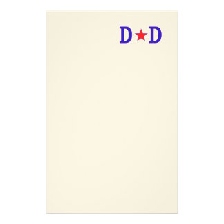 Papá de la estrella del papá papeleria de diseño