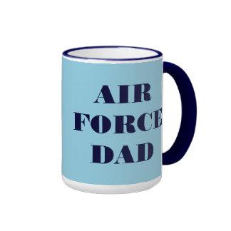 Papá de la fuerza aérea de la taza