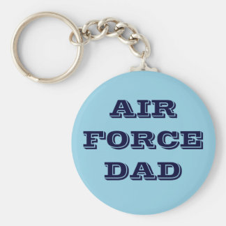 Papá de la fuerza aérea del llavero