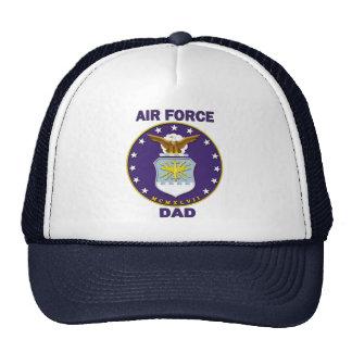 Papá de la fuerza aérea gorras de camionero