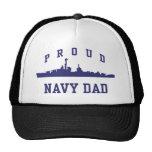 Papá de la marina de guerra gorra