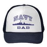 Papá de la marina de guerra gorras