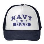 Papá de la marina de guerra gorras de camionero