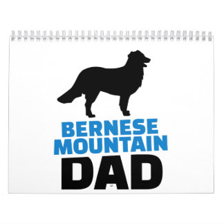 Papá de la montaña de Bernese Calendario