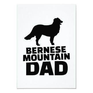 Papá de la montaña de Bernese Invitación 8,9 X 12,7 Cm
