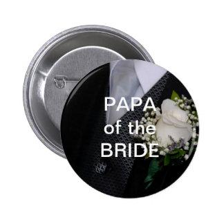 Papá de la novia pin redondo 5 cm