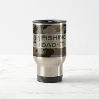 Papá de la pesca #1 taza térmica