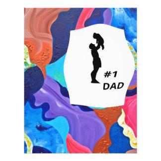 Papá de la pompa #1 membrete