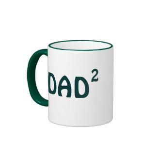 Papá de la taza dos: Papá al segundo poder - papá