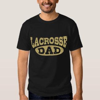 Papá de LaCrosse Playeras