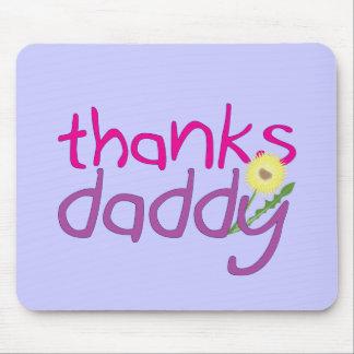 Papá de las gracias alfombrillas de raton
