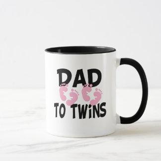 Papá de las huellas a los gemelos (chicas gemelos)