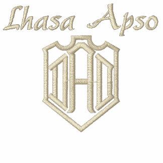 PAPÁ de Lasa Apso Camiseta Polo Bordada