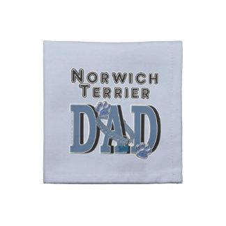 PAPÁ de Norwich Terrier Servilletas
