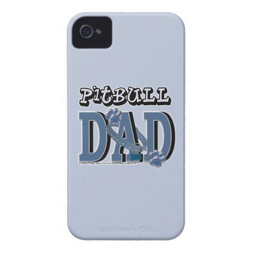 PAPÁ de Pitbull Case-Mate iPhone 4 Coberturas