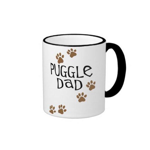 Papá de Puggle Taza De Café