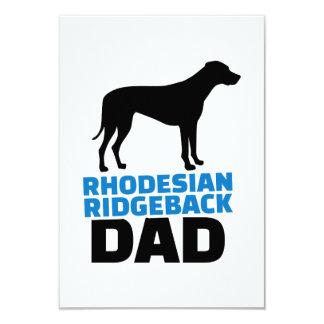 Papá de Rhodesian Ridgeback