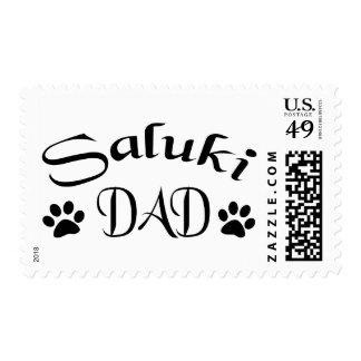 Papá de Saluki (texto de lujo) Envio