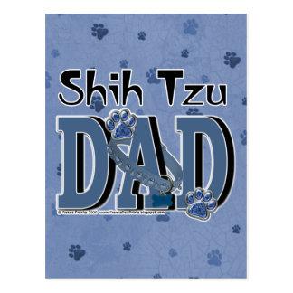 PAPÁ de Shih Tzu Postal