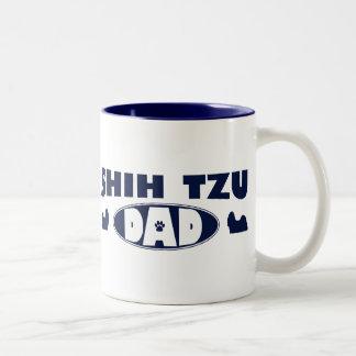 Papá de Shih Tzu Tazas De Café