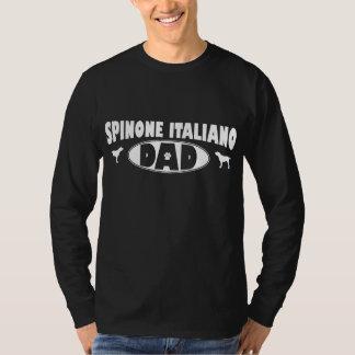 Papá de Spinone Italiano Poleras