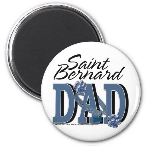 PAPÁ de St Bernard Imán