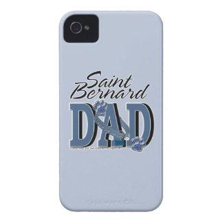 PAPÁ de St Bernard iPhone 4 Case-Mate Protector
