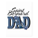 PAPÁ de St Bernard Postal