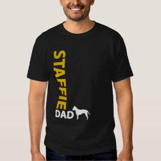 Papá de Staffordshire Terrier americano Camisas