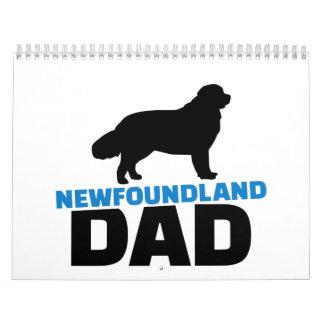 Papá de Terranova Calendarios