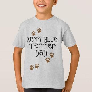 Papá de Terrier de azul de Kerry Camisas