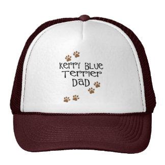 Papá de Terrier de azul de Kerry Gorro