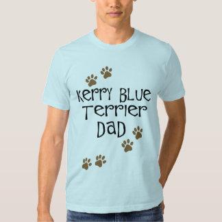 Papá de Terrier de azul de Kerry Playeras