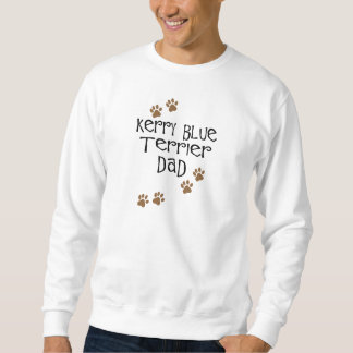 Papá de Terrier de azul de Kerry Sudadera Con Capucha