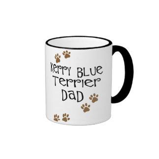 Papá de Terrier de azul de Kerry Taza De Dos Colores