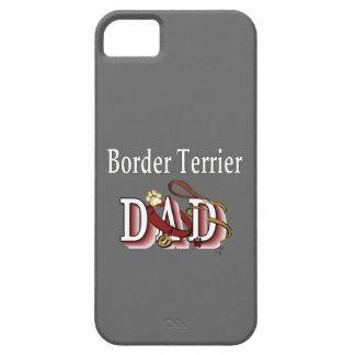 Papá de Terrier de frontera iPhone 5 Case-Mate Cobertura
