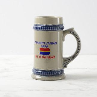 Papá de Transylvanian - sangre Jarra De Cerveza