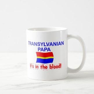 Papá de Transylvanian - sangre Taza De Café