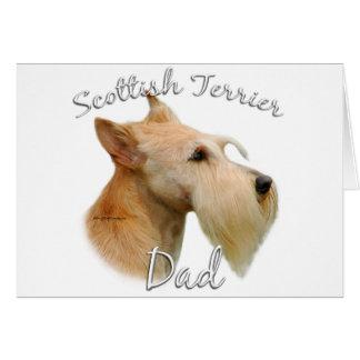Papá (de trigo) 2 de Terrier del escocés Tarjeta De Felicitación